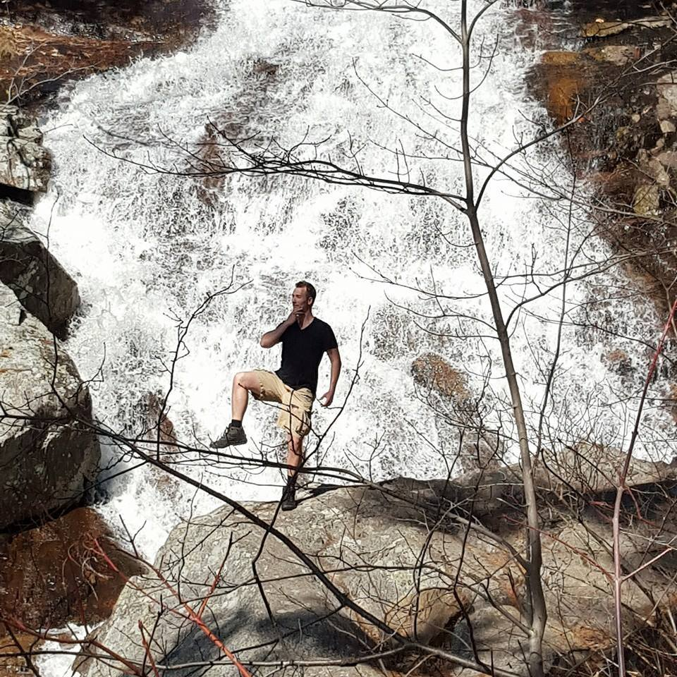 Waterfall Pose
