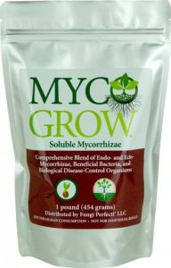 Myco Grow for increased water and nutrient absorption